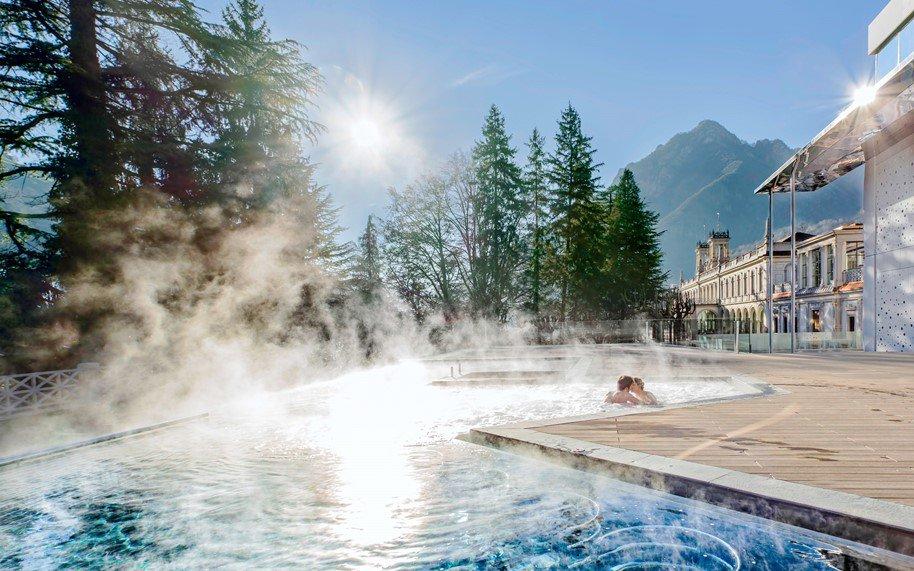 Ingresso terme san pellegrino acquistalo subito online - Hotel con piscine termali all aperto ...