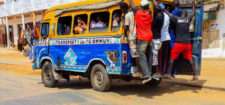 Viaggio in Senegal - Bus