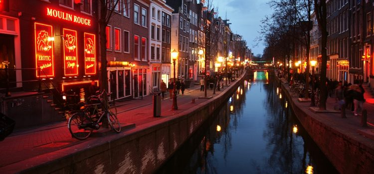 amsterdam a luci rosse